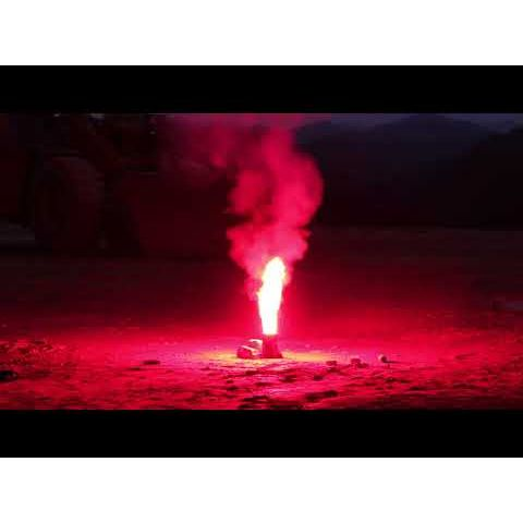 ZX8441-R COLOR RED FLAME 60 SEC INCENDIO ROSSO 24/1 T1