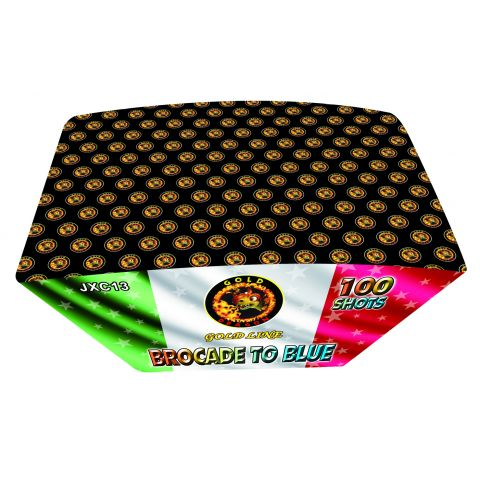JXC13 BROCADE TO BLUE 20*25*175 100 LANCI 2/1 F3