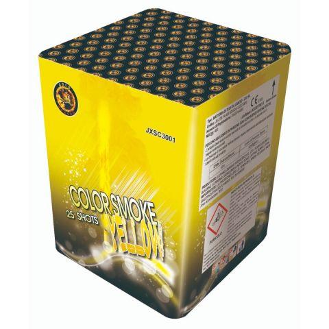 JXSC3001 VOLATA FUMATA GIALLA + TI SALUTE 30*36*225* 25 LANCI 4/1 F4