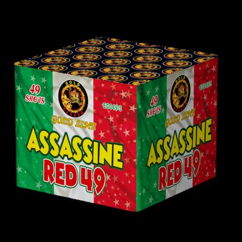 ECC49-5 ASSASSINE RED 25*30*150* 4/1 F3 49 LANCI