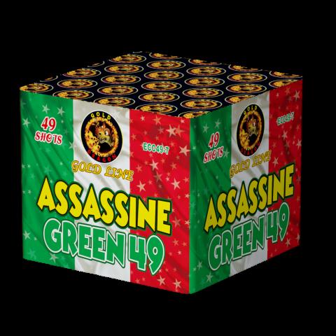 ECC49-7 ASSASSINE GREEN 25*30*175* 4/1 F3 49 LANCI